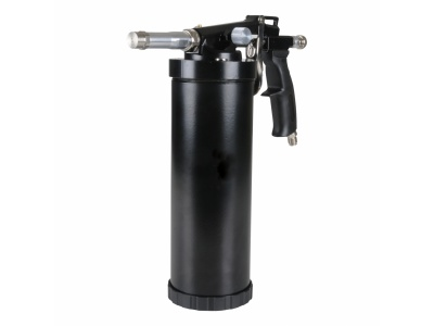 Texture spray-gun for undercoating