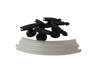 Set with 6 disposable nozzles + suction tubes for art. 15023S