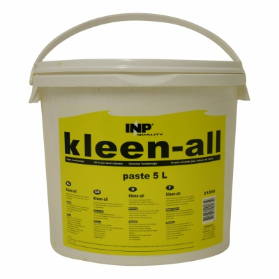 Kleen-All handcleanser paste. Can 5 ltr.