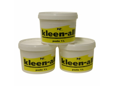 Kleen-All handcleanser paste. Jar 1 ltr.