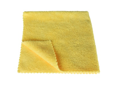 Microfiber cloths, yellow, set of 3
