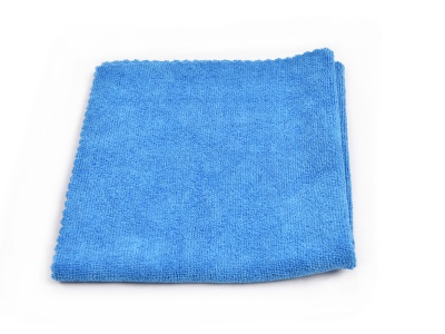 Microfiber cloths, blue, set of 3