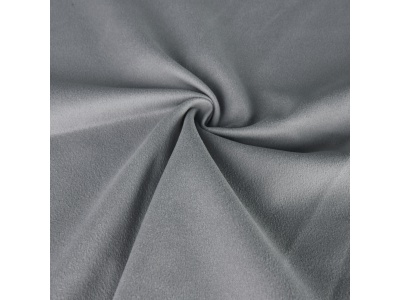 Universal cleaning cloth microfiber polar fleece, grey