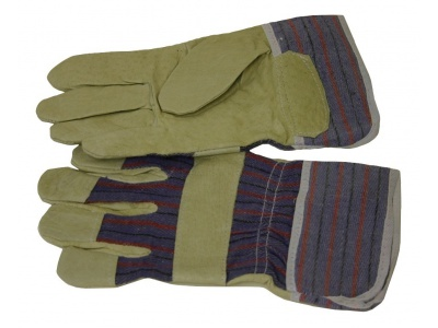 Cowskin gloves