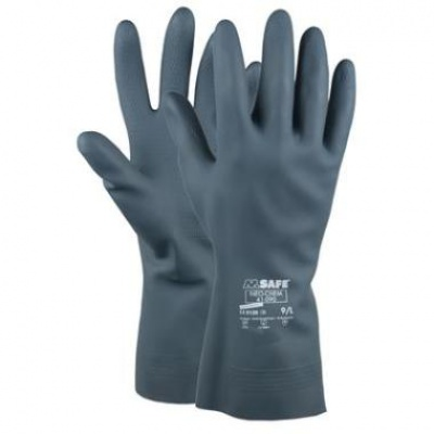 Neoprene gloves, 30 cm, size XXL