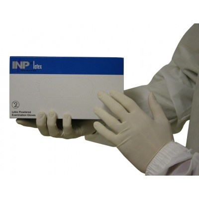 INP latex gloves, size S