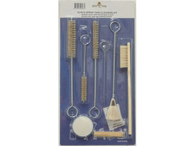 Spray-gun cleaning kit (12 pcs)