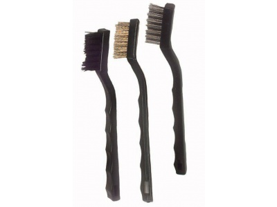 3 pieces easy grip brush set