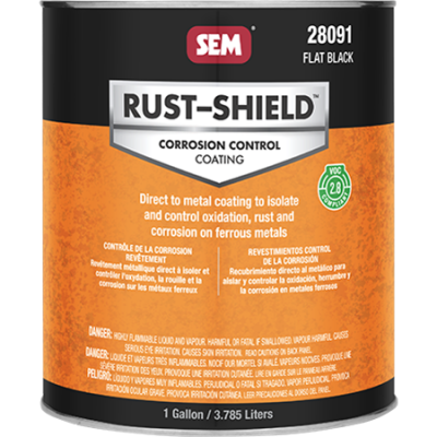 2.8 VOC RUST-SHIELD™ - Flat Black - 3,8 ltr