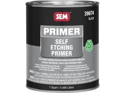 Self Etching Primer - Black - 946 ml