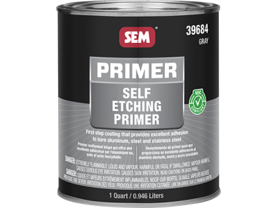 Self Etching Primer - Gray - 946 ml
