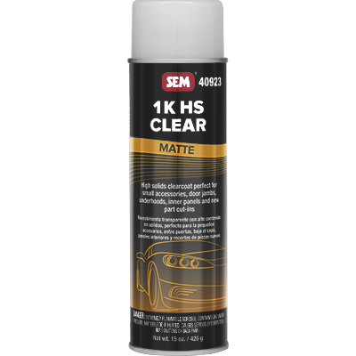 1K HS Clear - Matte - spray 591 ml